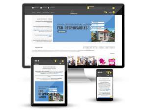 Création du site web de Maisons.com